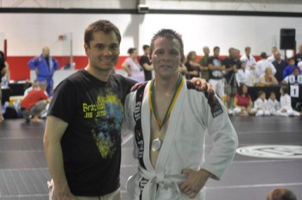"Won a gi division at no-stripe white belt. Was never tempted to ""retire undefeated."""