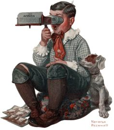 Norman Rockwell did visualizations. Be like Norman Rockwell.